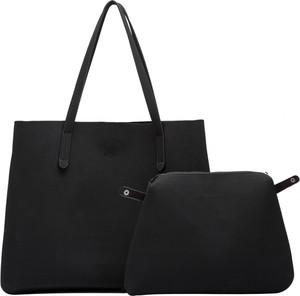 Czarna torebka Claudia Canova w stylu glamour