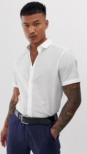 Koszula Asos Design z klasycznym kołnierzykiem z krótkim rękawem