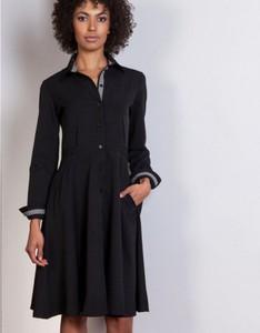 Sukienka Lanti midi z długim rękawem