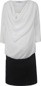 bellybutton Sukienka ciążowa w kolorze czarno-białym