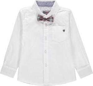 Koszula dziecięca Kanz z bawełny w krateczkę dla chłopców