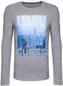T-shirt Guess z długim rękawem