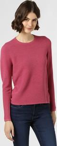 Różowy sweter Franco Callegari z dzianiny