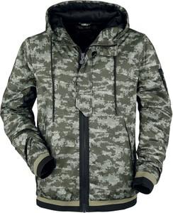 Kurtka Emp w militarnym stylu