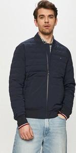 Kurtka Tommy Hilfiger w stylu casual z tkaniny krótka