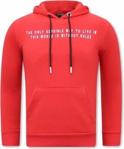 Czerwona bluza TONY BACKER
