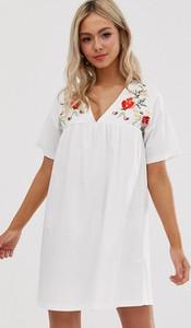 Sukienka Asos Design z bawełny oversize
