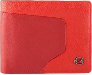 Czerwony portfel męski PIQUADRO