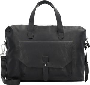 Czarna torba Esprit ze skóry