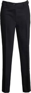 Czarne spodnie TOVA w stylu klasycznym