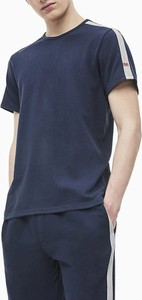 Niebieski t-shirt Calvin Klein