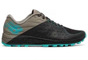 Czarne buty New Balance sznurowane z płaską podeszwą