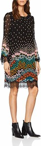 Sukienka amazon.de prosta mini z okrągłym dekoltem