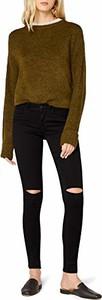 Czarne jeansy Only w street stylu