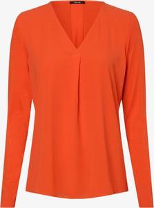 Pomarańczowa bluzka Opus z długim rękawem z dżerseju