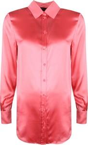 Różowa koszula Twinset w stylu casual