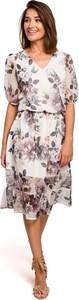 Sukienka MOE z szyfonu