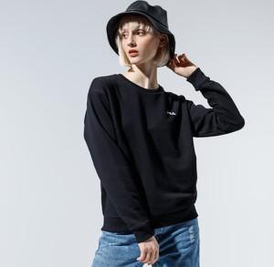 Czarna bluza Fila w sportowym stylu krótka