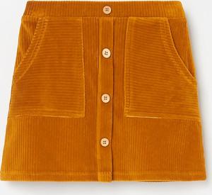 Pomarańczowa spódniczka dziewczęca Reserved