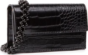 Czarna torebka DeeZee mała lakierowana