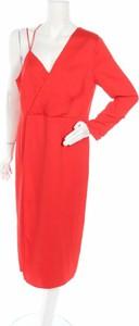 Czerwona sukienka Issa z dekoltem w kształcie litery v
