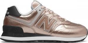 Złote buty sportowe New Balance