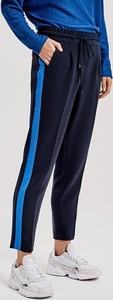 Granatowe spodnie Opus