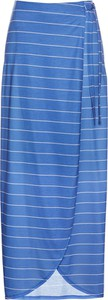 Niebieska spódnica bonprix bpc selection z dżerseju