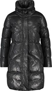 Czarny płaszcz Samoon w stylu casual