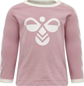 Różowa koszulka dziecięca Hummel
