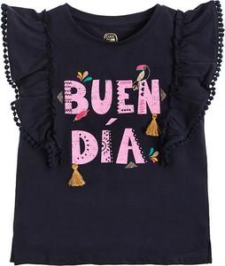 Granatowa bluzka dziecięca Cool Club dla dziewczynek