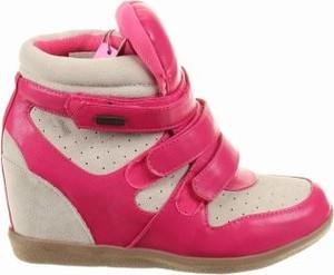 Sneakersy ILARIO FERUCCI na rzepy