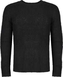 Czarny sweter Antony Morato z tkaniny