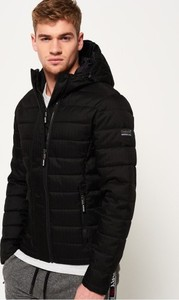 Czarna kurtka Ratic w stylu casual