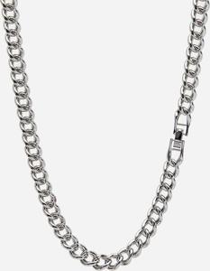 Reserved - Naszyjnik w formie łańcucha - Srebrny
