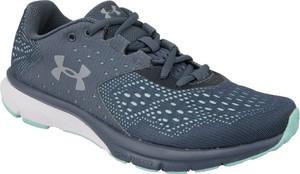 Niebieskie buty sportowe Under Armour sznurowane z płaską podeszwą