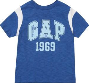 Niebieska koszulka dziecięca Gap