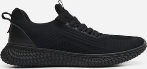 Czarne buty sportowe House sznurowane
