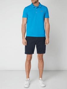 294ab026e Niebieskie koszulki polo męskie Lacoste, kolekcja lato 2019