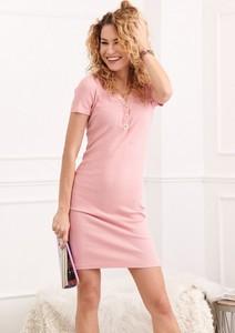 Różowa sukienka Fasardi