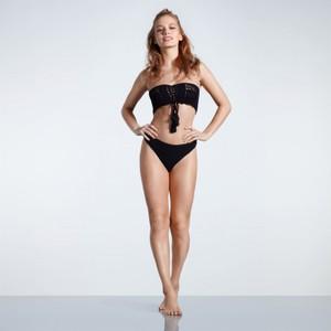 Czarny strój kąpielowy USA Pro