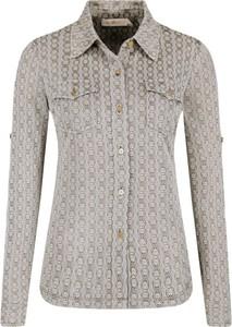 Beżowe koszule damskie, kolekcja wiosna 2020