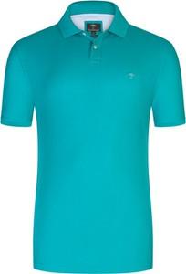 Koszulka polo Fynch Hatton z bawełny w stylu casual z krótkim rękawem