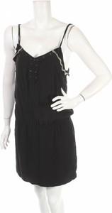 Czarna sukienka See u Soon na ramiączkach