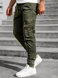 Zielone spodnie Denley