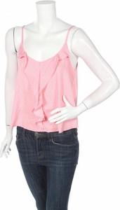 Różowa bluzka Tally Weijl z okrągłym dekoltem
