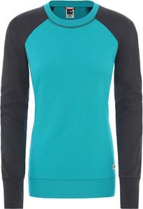 Bluza The North Face w sportowym stylu krótka z tkaniny