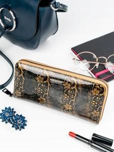 f59b4b9883e3f damski portfel na zamek - stylowo i modnie z Allani