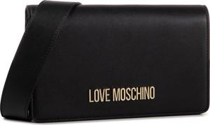 Czarna torebka Love Moschino na ramię mała
