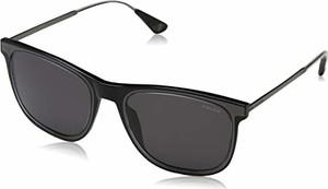 amazon.de Police okulary przeciwsłoneczne męskie MARK 4, czarne (Crystal Black/Grey)